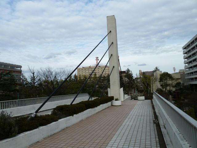福井中央公園歩道橋4