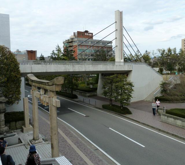 福井中央公園歩道橋7