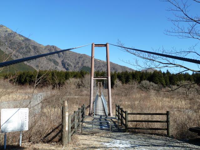 麓の吊橋1