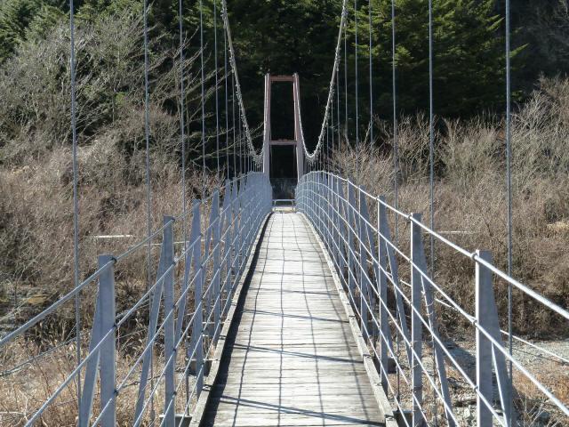 麓の吊橋11