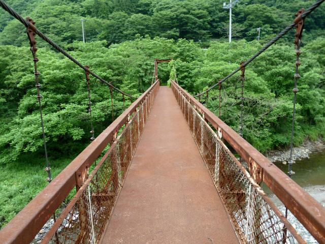 坂内広瀬の吊橋3
