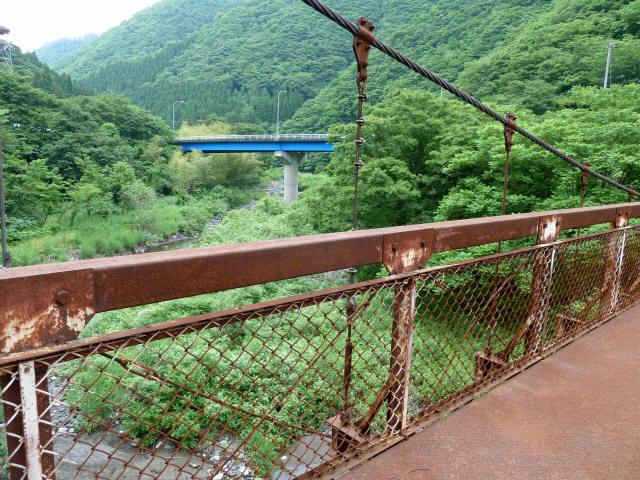 坂内広瀬の吊橋5