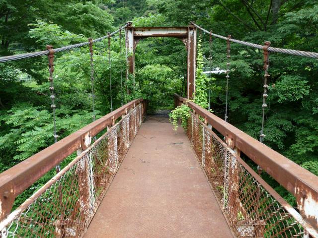 坂内広瀬の吊橋4