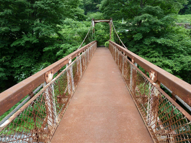 坂内広瀬の吊橋6