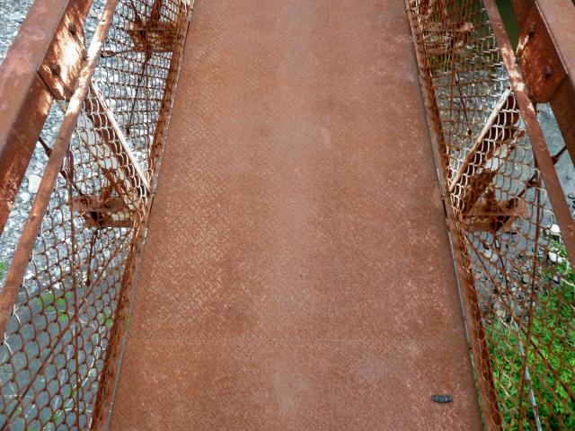 坂内広瀬の吊橋7