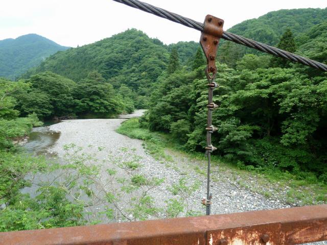 坂内広瀬の吊橋8