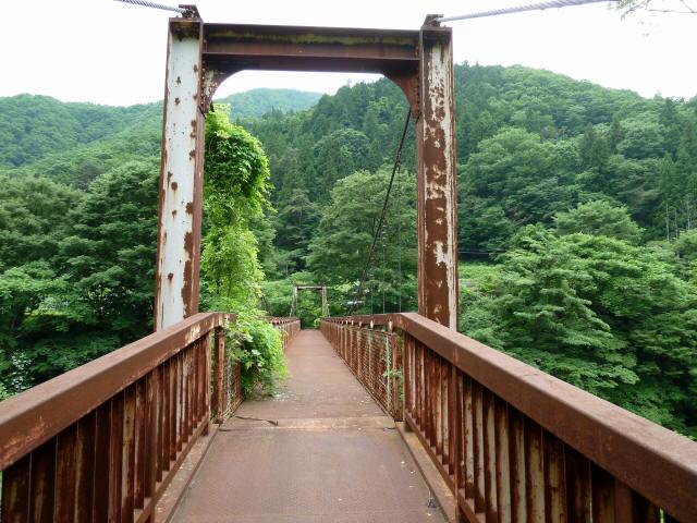 坂内広瀬の吊橋9