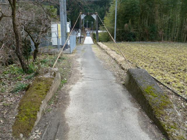 広田の吊橋1