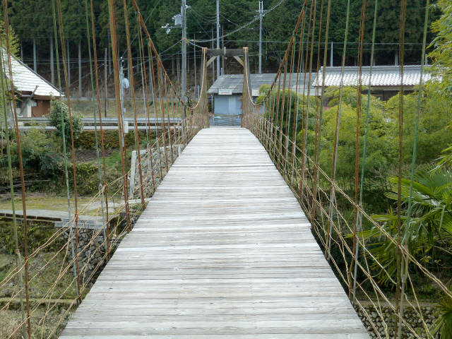 広田の吊橋2