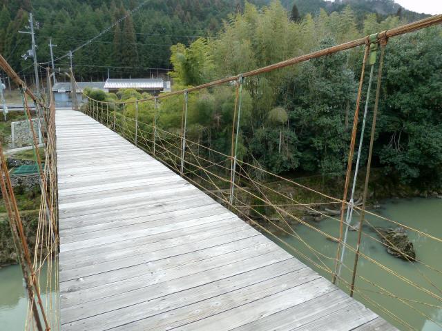 広田の吊橋3