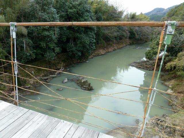 広田の吊橋4