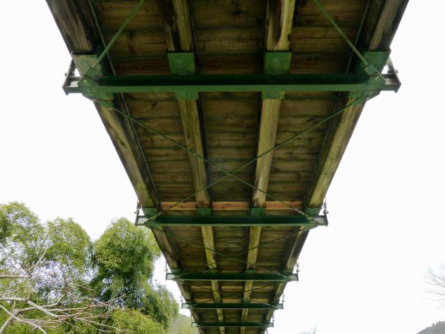 広田の吊橋7