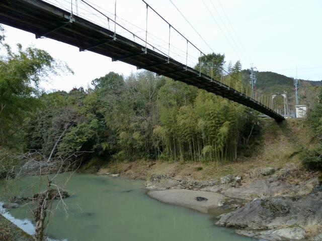 広田の吊橋8