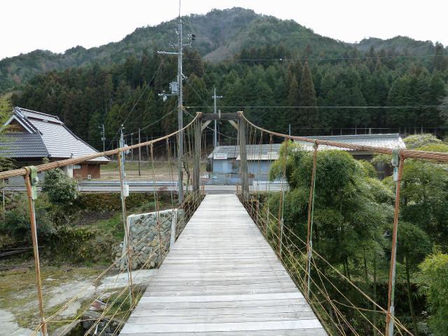 広田の吊橋9