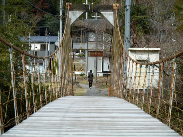 広田の吊橋10