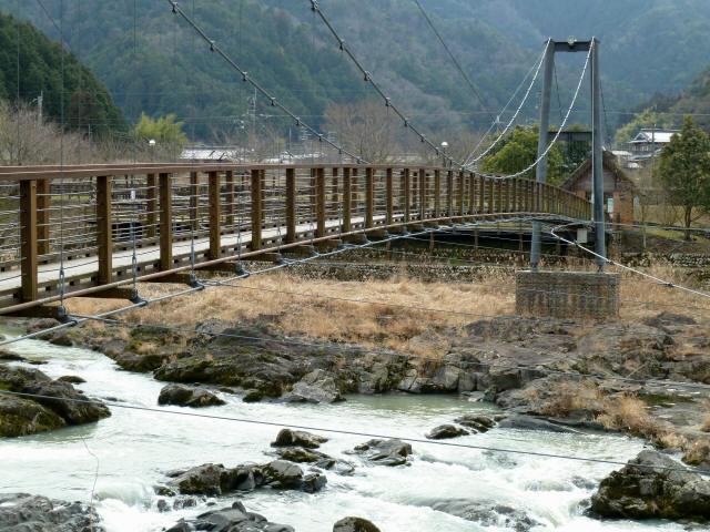 川代公園の吊橋3
