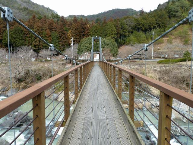 川代公園の吊橋4