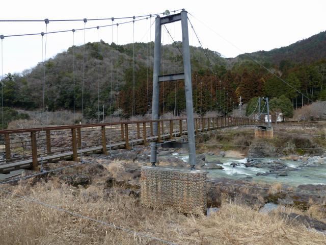 川代公園の吊橋5
