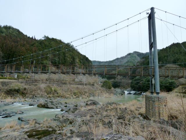 川代公園の吊橋8