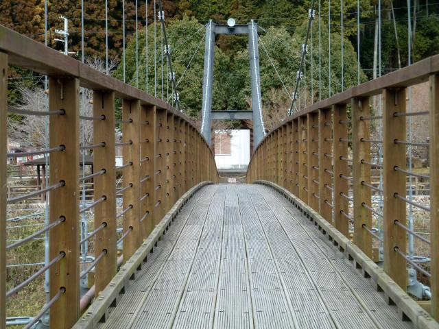 川代公園の吊橋7