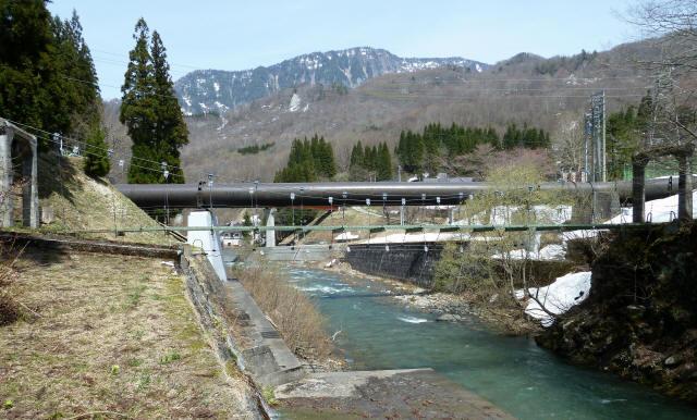 切明発電所の吊橋4