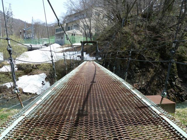 切明発電所の吊橋6