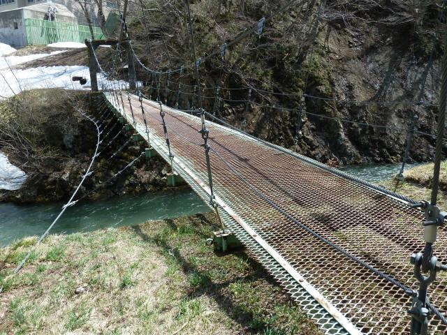 切明発電所の吊橋7