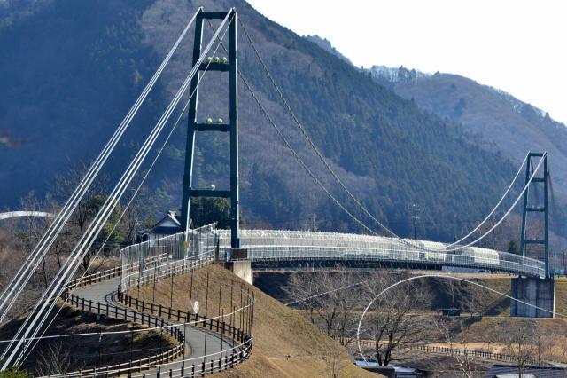 水の郷大つり橋13