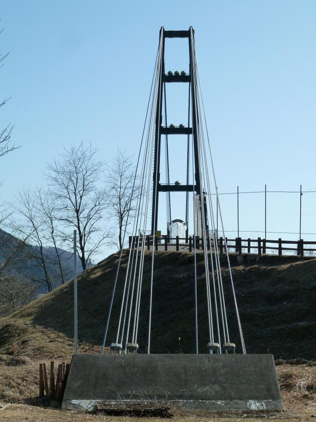 水の郷大つり橋14