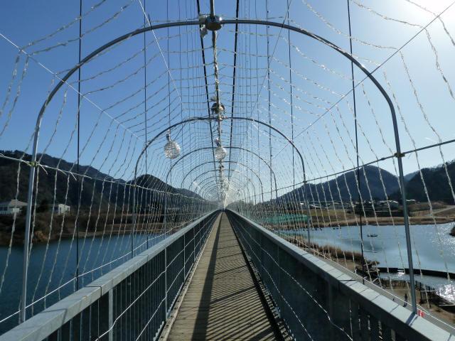 水の郷大つり橋15