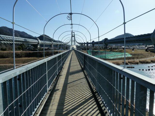 水の郷大つり橋16