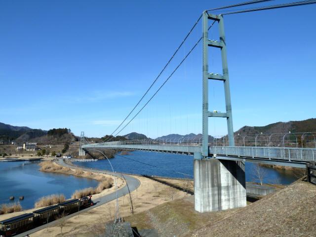 水の郷大つり橋18