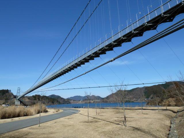 水の郷大つり橋9
