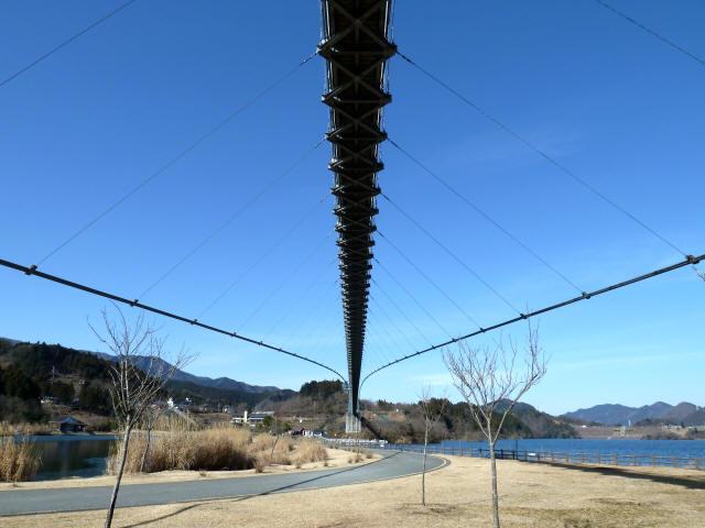 水の郷大つり橋10