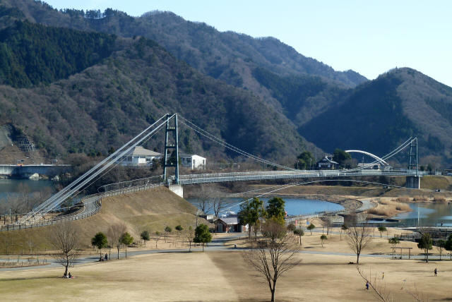 水の郷大つり橋12