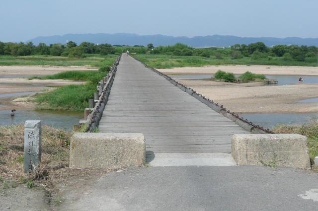 上津屋橋(流れ橋)1