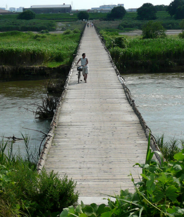 上津屋橋(流れ橋)4