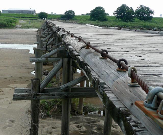 上津屋橋(流れ橋)5