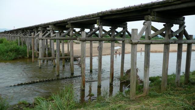 上津屋橋(流れ橋)7