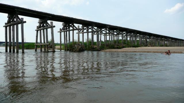 上津屋橋(流れ橋)8