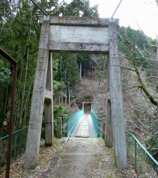 中越の吊橋1