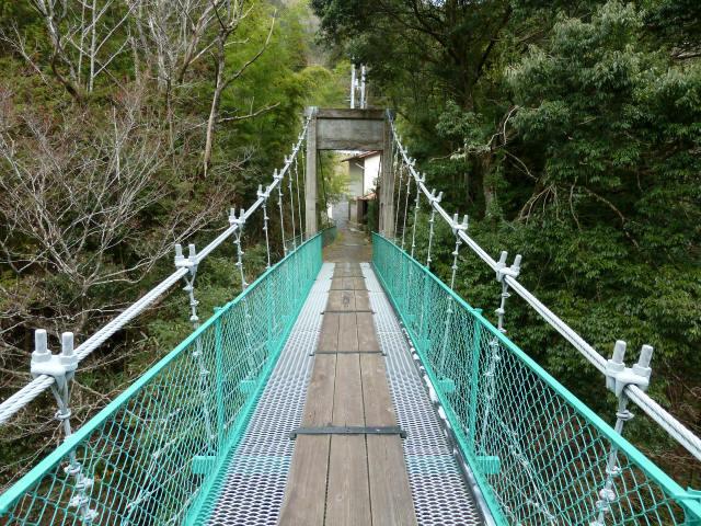 中越の吊橋5