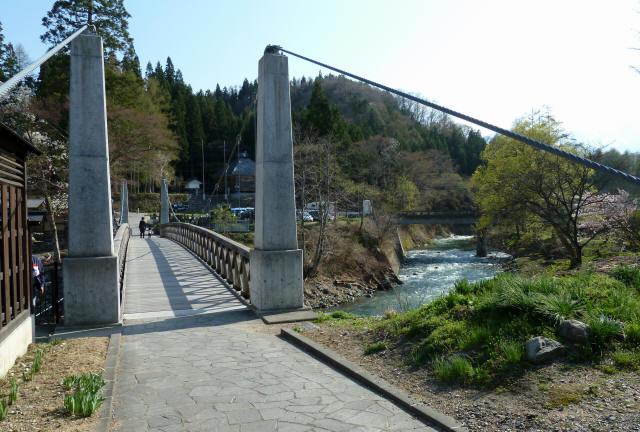 大出の吊橋9