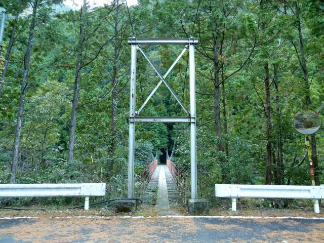 大藪谷の吊橋1