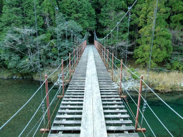 大藪谷の吊橋3