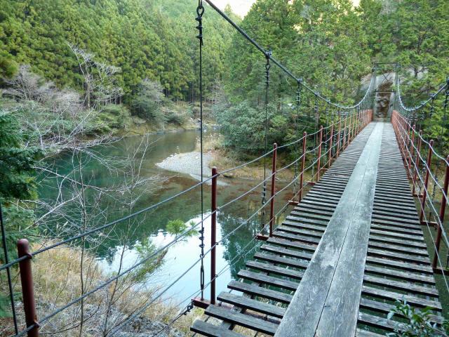 大藪谷の吊橋7