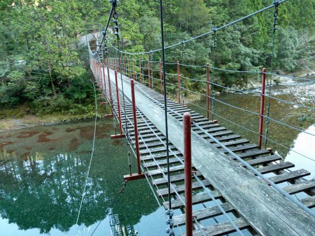 大藪谷の吊橋8