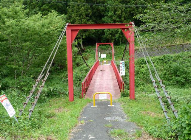 坂内坂本の吊橋8