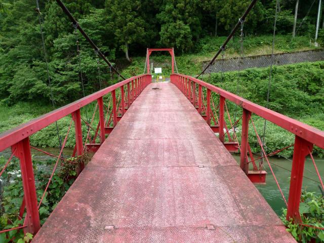 坂内坂本の吊橋7