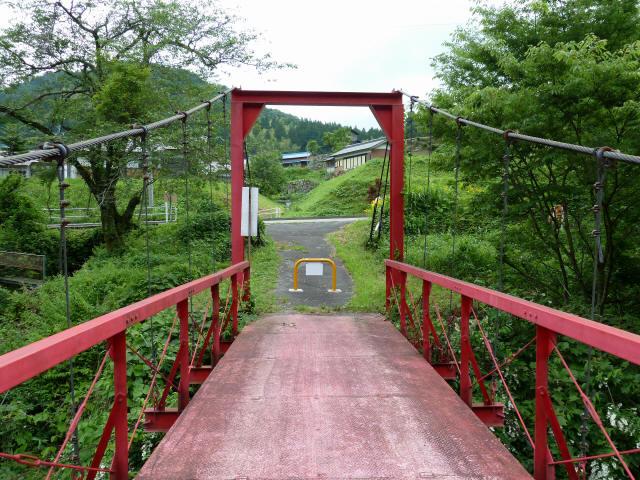 坂内坂本の吊橋5